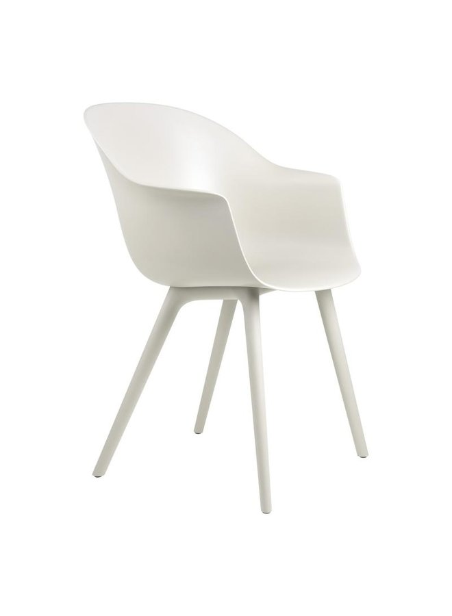 Bat Dining Chair - Un-Upholstered, Plastic base, Outdoor