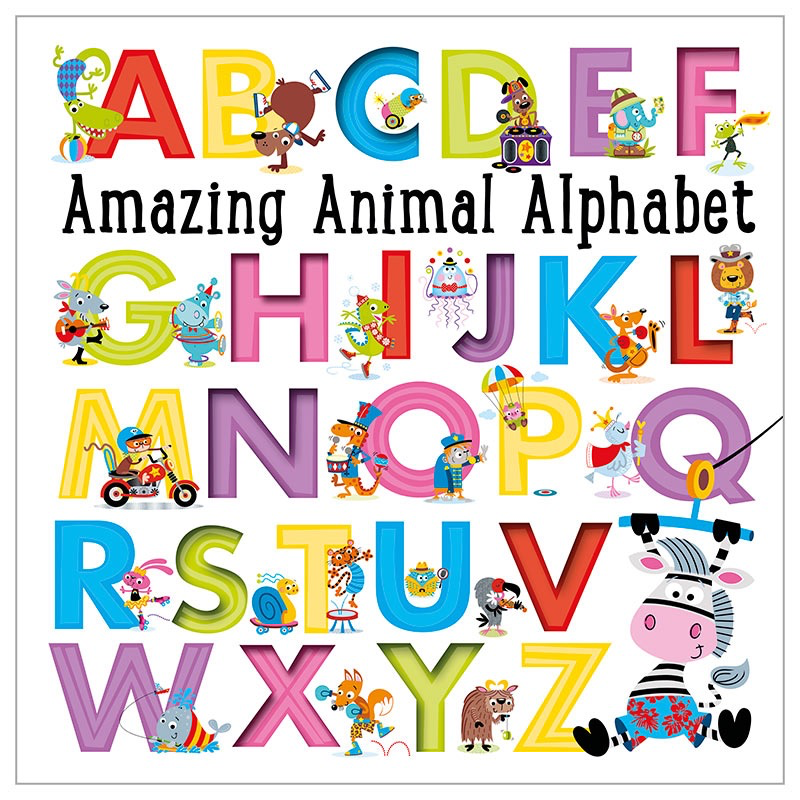 Fire the Imagination Amazing Animal Alphabet