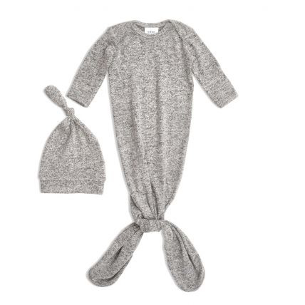 Aden & Anais Aden & Anais Knit Gown & Hat Set