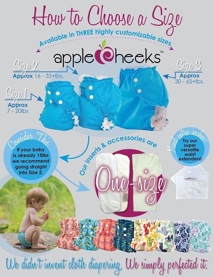 AppleCheeks AppleCheeks One Size Solid