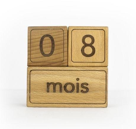Whittle Wood French Big Moments Blocks