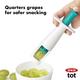 OXO Tot OXO Tot Grape Cutter - Teal