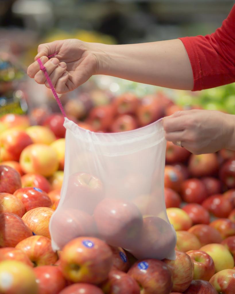 AppleCheeks Reusable Mesh Produce Bags