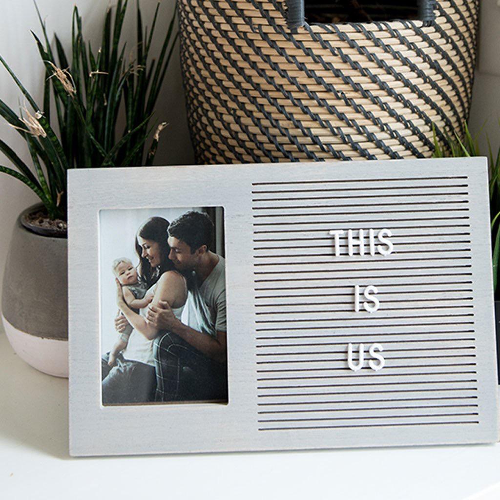 Pearhead Letterboard Photo Set
