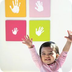 Pearhead Pearhead Handprint Wall Art Set