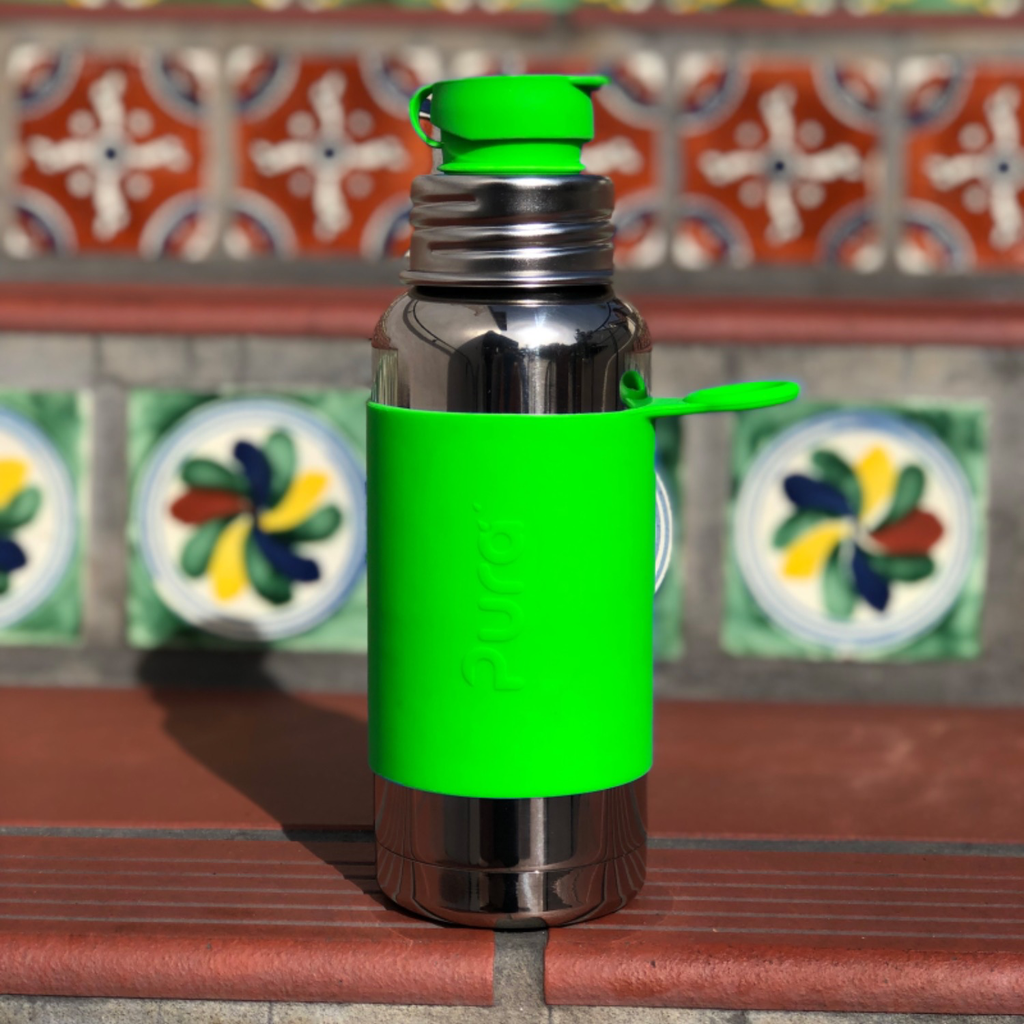 Pura Kiki Insulated Sport Bottle w/ Sleeve 475 ml.