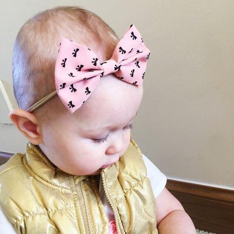 Baby Wisp - Fan Out Bow Headband