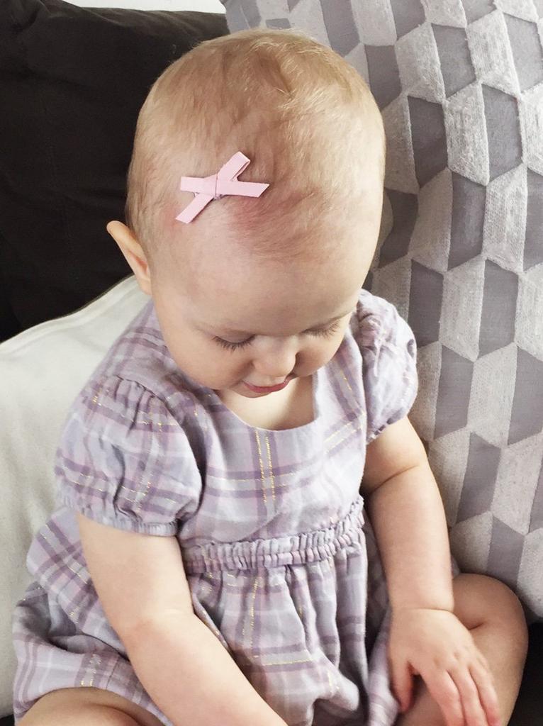 Baby Wisp Baby Wisp - Faux Suede Bow