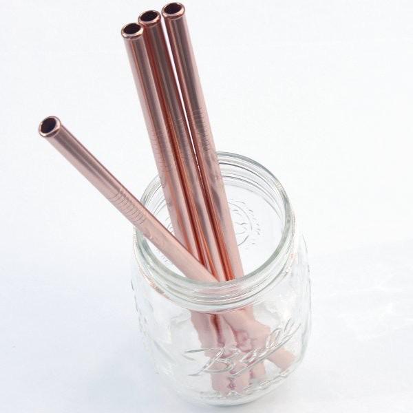 Onyx Stainless Steel Straw