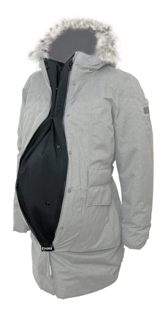 Make My Belly Fit Make My Belly Fit Jacket Extender - Charcoal, One Size