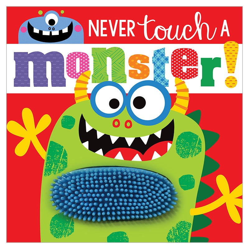 Never Touch a Monster Board Book