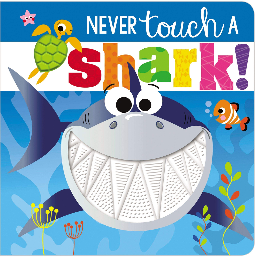 Never Touch a Shark Board Book