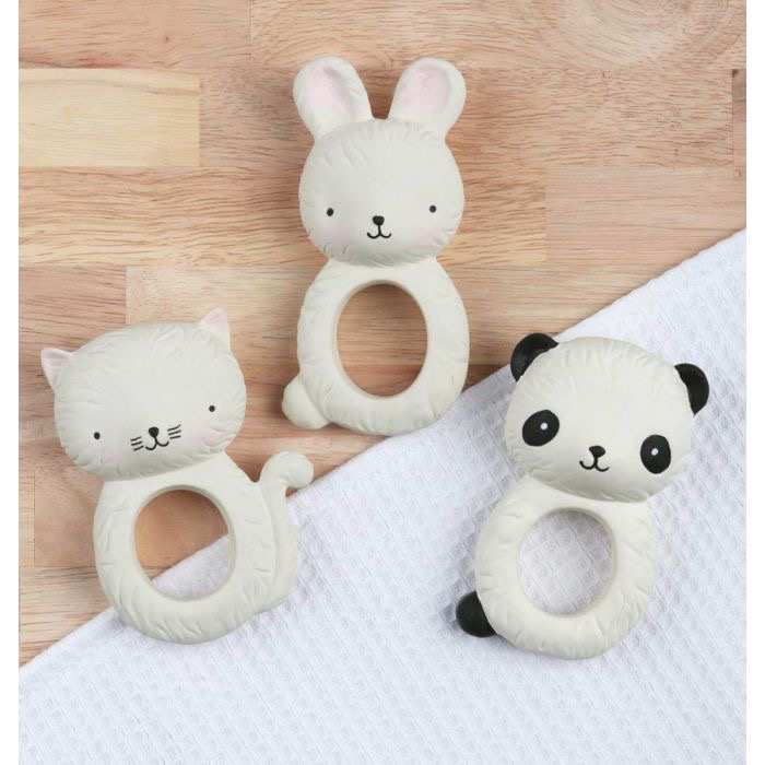 A Little Lovely Company A Little Lovely Company 100% Natural Rubber Teether