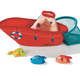 Lilliputiens Lilliputiens Fishing Boat Bath Toy