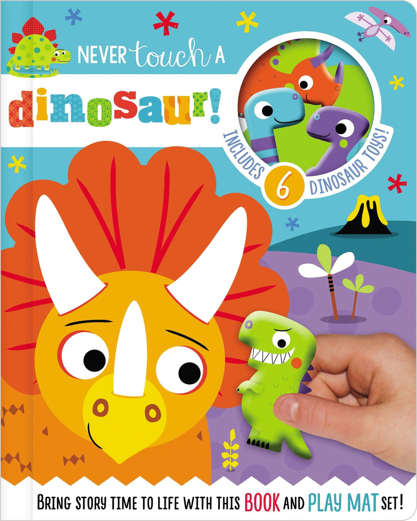 Read and Play - Never Touch a Dinosaur