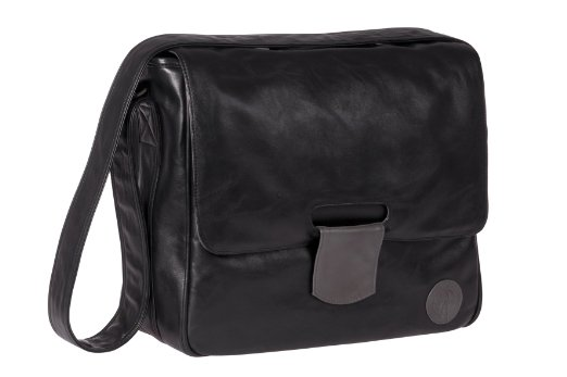 Lassig Messenger Diaper Bag Tender Black