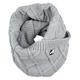 Perlimpinpin Perlimpinpin Knitted Infinity Scarf - Grey