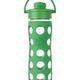 Life Factory Life Factory Glass Bottle w/Flip Cap 16oz