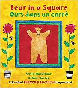 Fire the Imagination Bear in a Square/Ours dans un carre