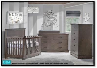 Natart Juvenile Nest Matisse Crib