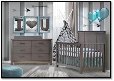 Nest Juvenile Bruges Convertible Crib