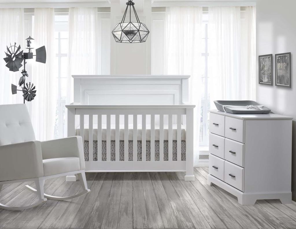 Natart Juvenile Taylor Convertible Crib