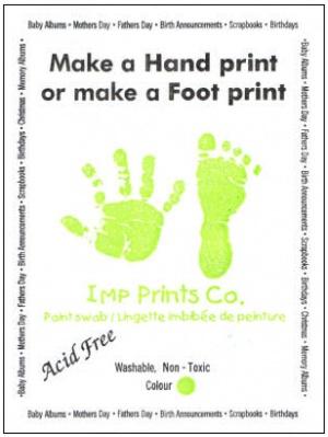 Imp Prints Hand or Foot Print Kit
