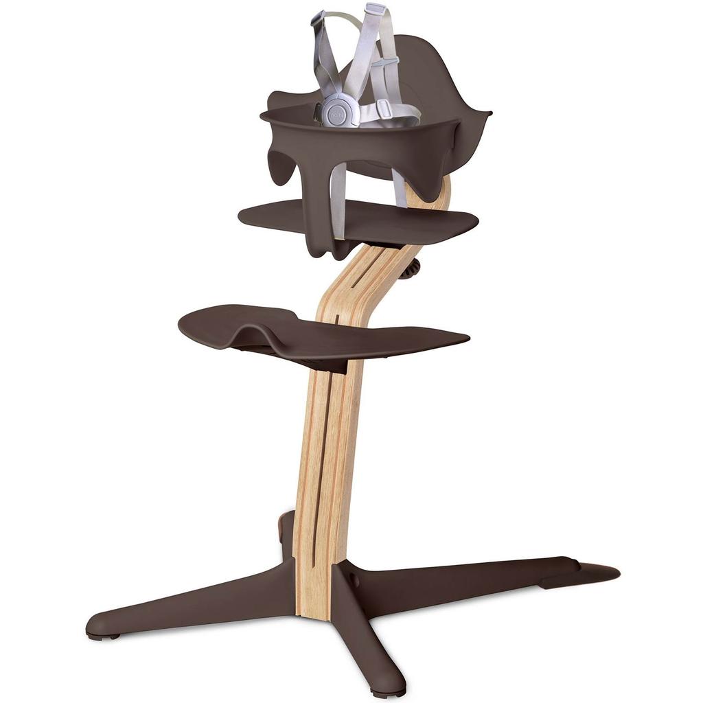 Nomi High Chair w/ White Oak Stem -