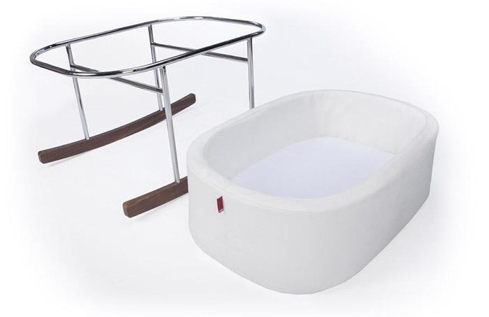 Monte Design Monte Design - Bassinet Sheet Set (White)