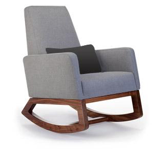 Monte Design Monte Joya Rocker Walnut Base