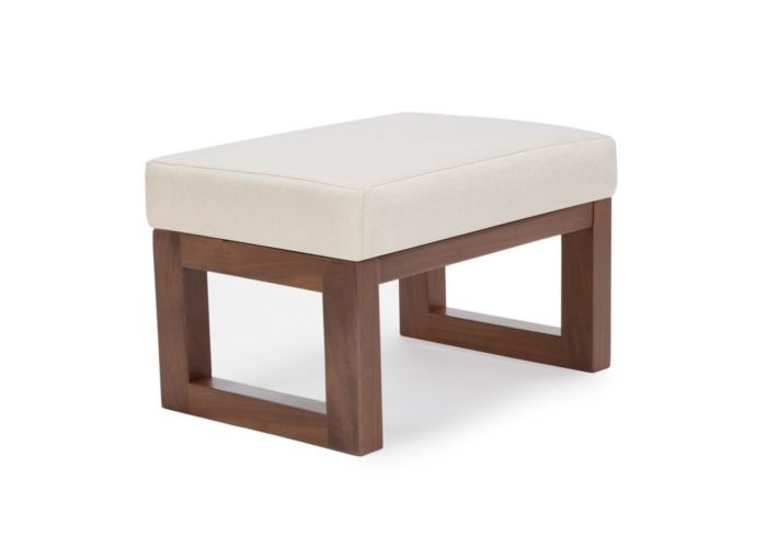 Monte Design Monte Joya Ottoman Walnut Base