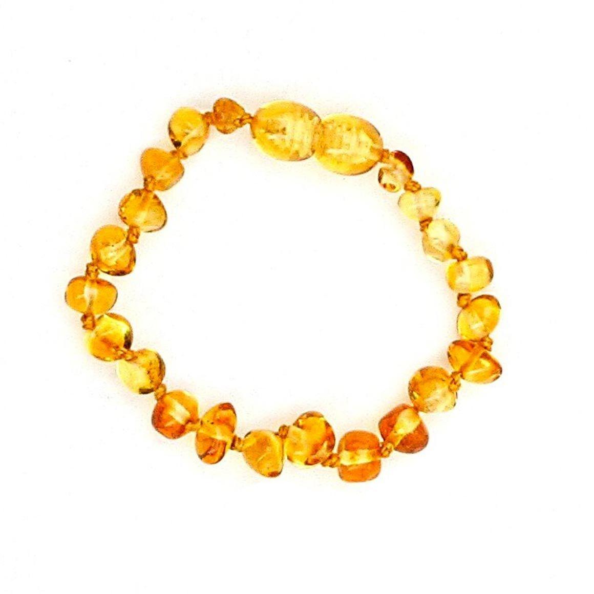 Healing Amber Anklet/Bracelet (clasp) 5.5