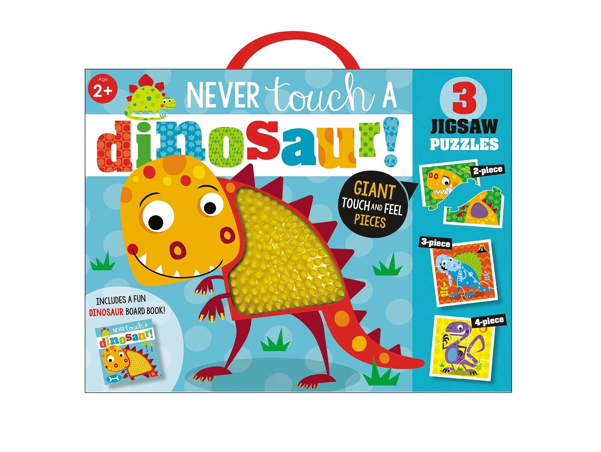 Fire the Imagination Never Touch a Dinosaur Puzzle