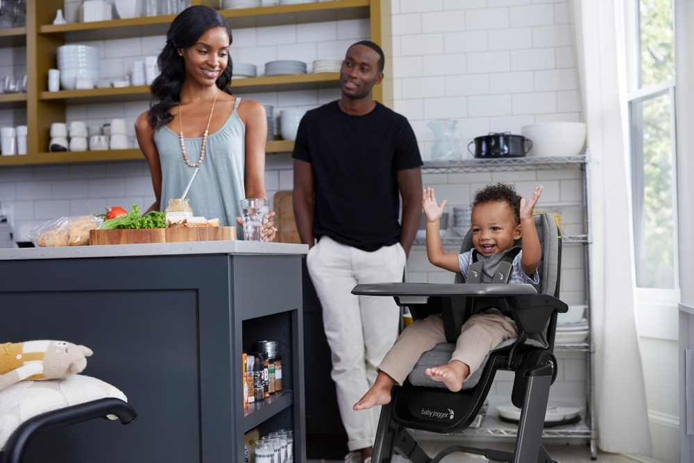 Baby Jogger City Bistro High Chair - Graphite