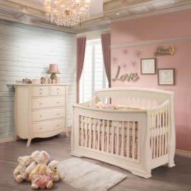 Natart Juvenile Bella Convertible Crib