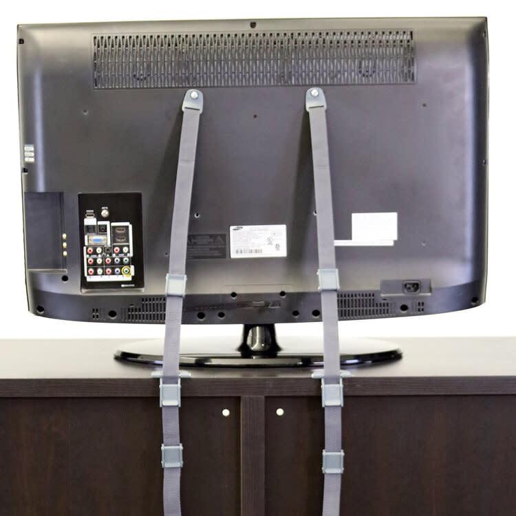 Qdos 2 in 1 Anti-Tip TV Strap