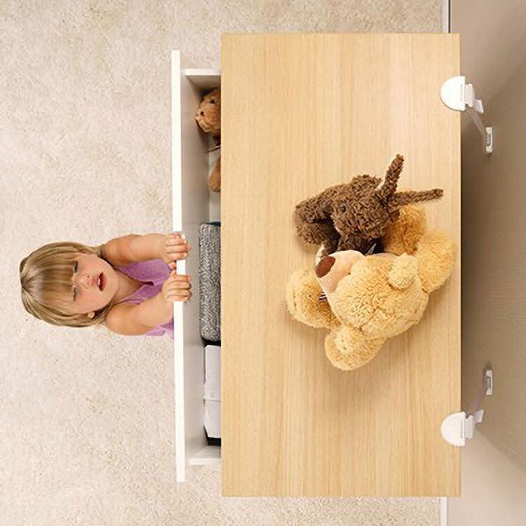 Qdos Qdos Zero-Screw Furniture Anti-Tip Kit