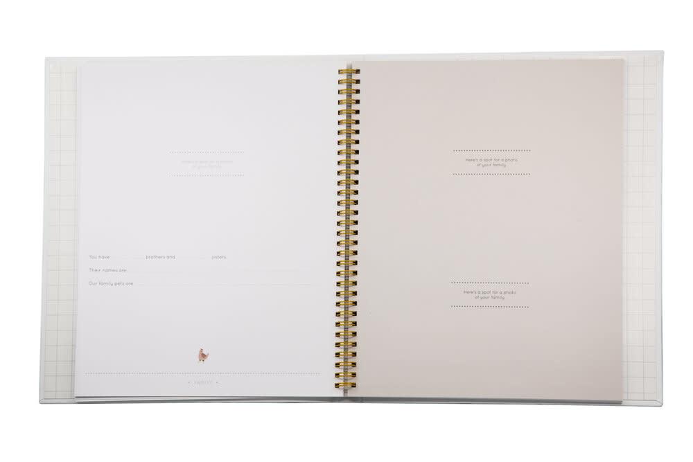 Mushybooks The First Year Baby Journal