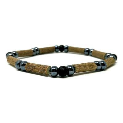 "Pur Noisetier Pure Hazelwood Single Bracelet 8"""