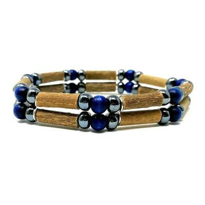 """Pur Noisetier Pure Hazelwood Double Bracelet 8"""""""