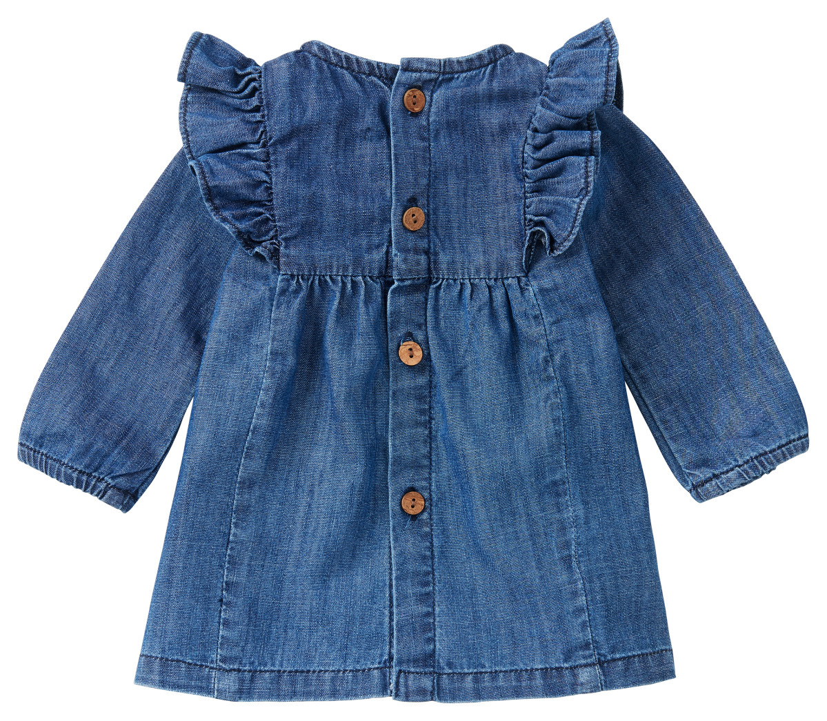 Noppies Noppies Marana Long Sleeve Dress - Medium Wash
