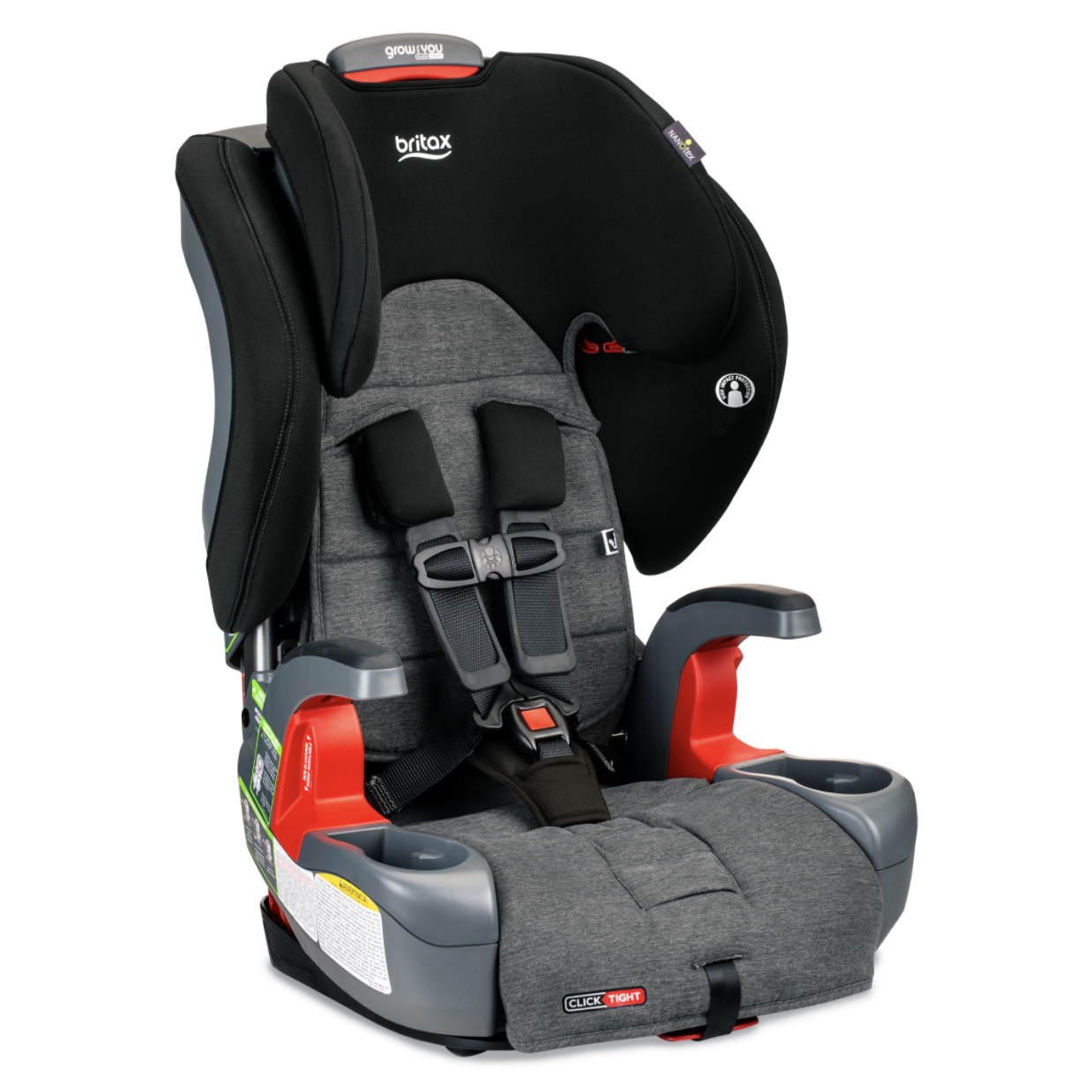 Britax Britax Grow With You ClickTight StayClean - Stainless