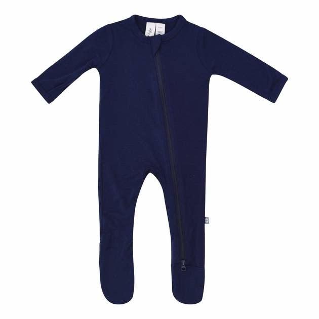Kyte Baby Kyte Baby Zippered Footie - Navy