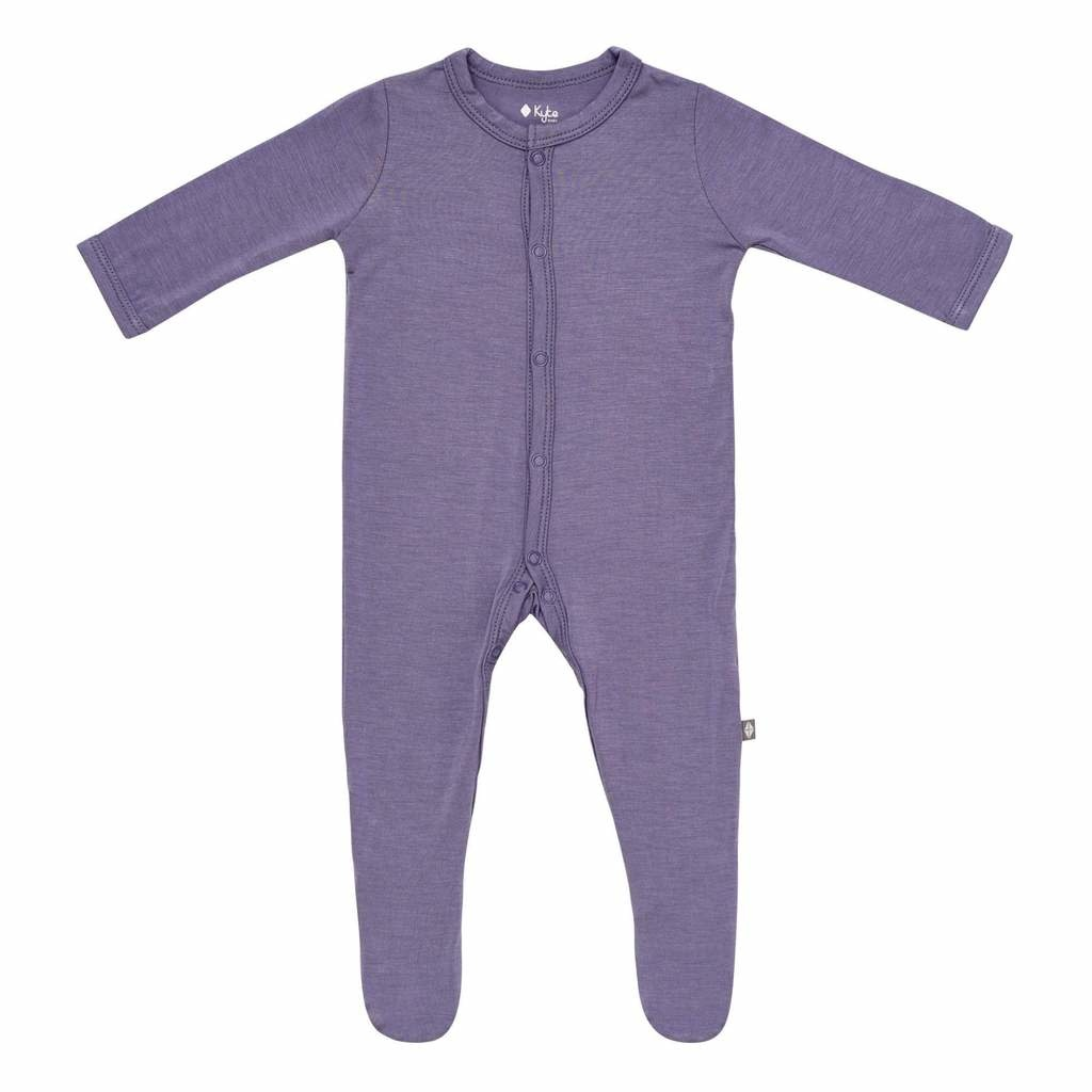 Kyte Baby Kyte Baby Snaps Footie - Orchid