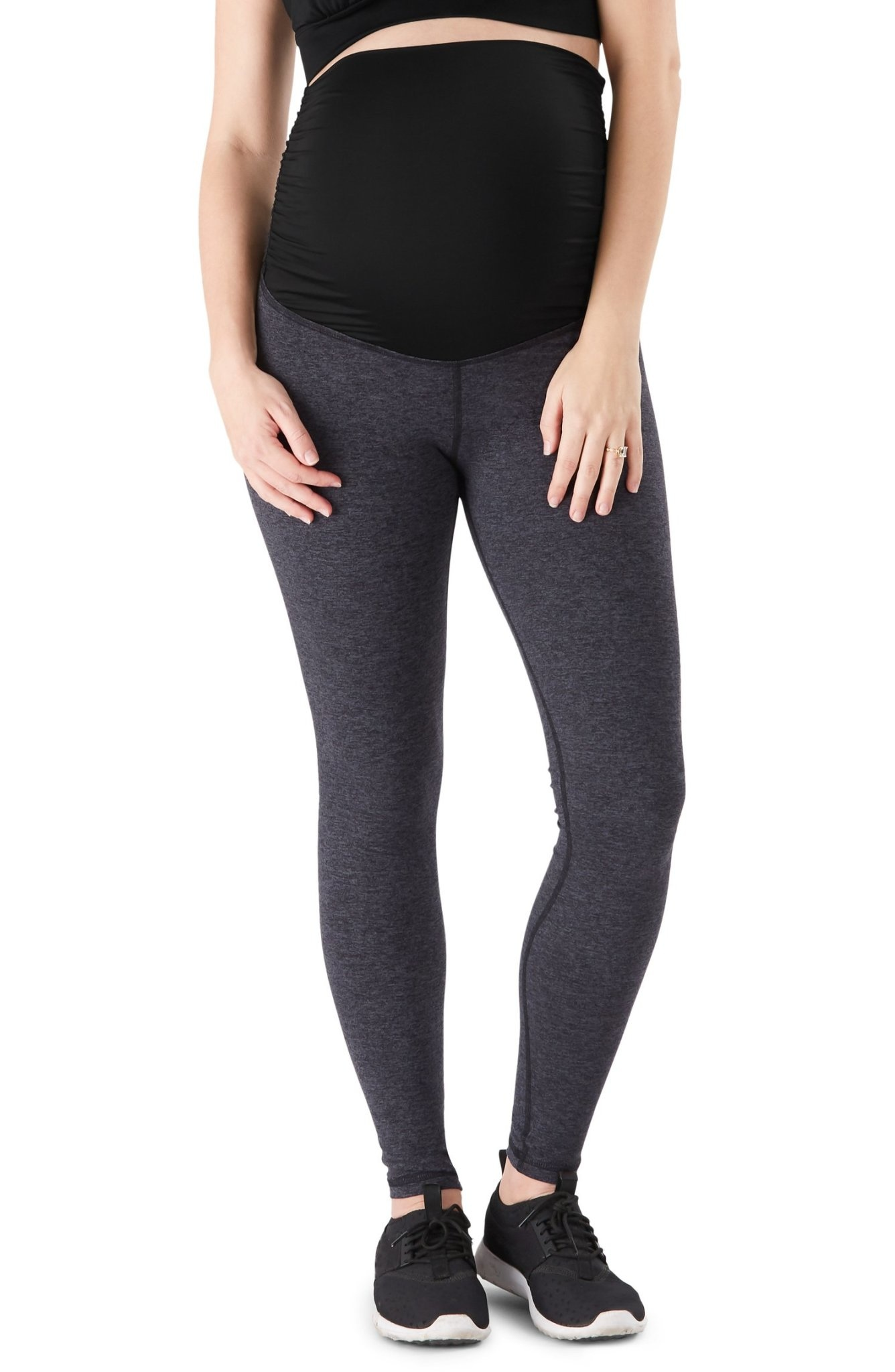 Belly Bandit Active Support Essential Leggings - Charcoal