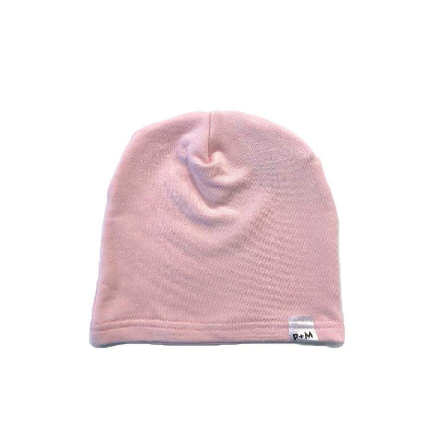 Portage and Main Light Pink Beanie
