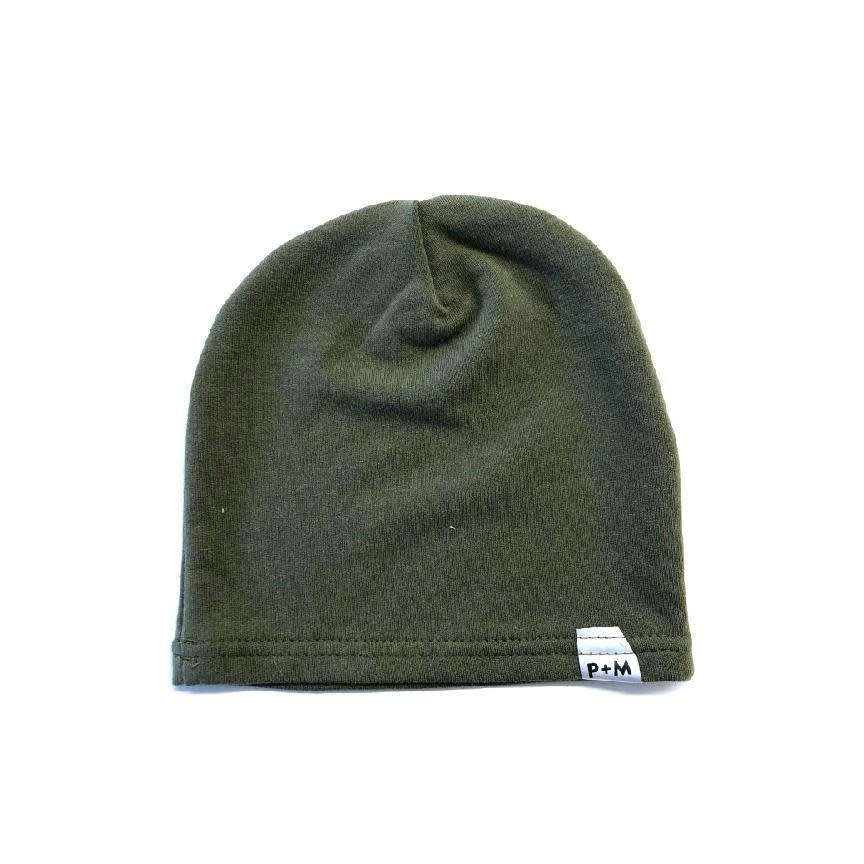 Portage and Main Olive Beanie