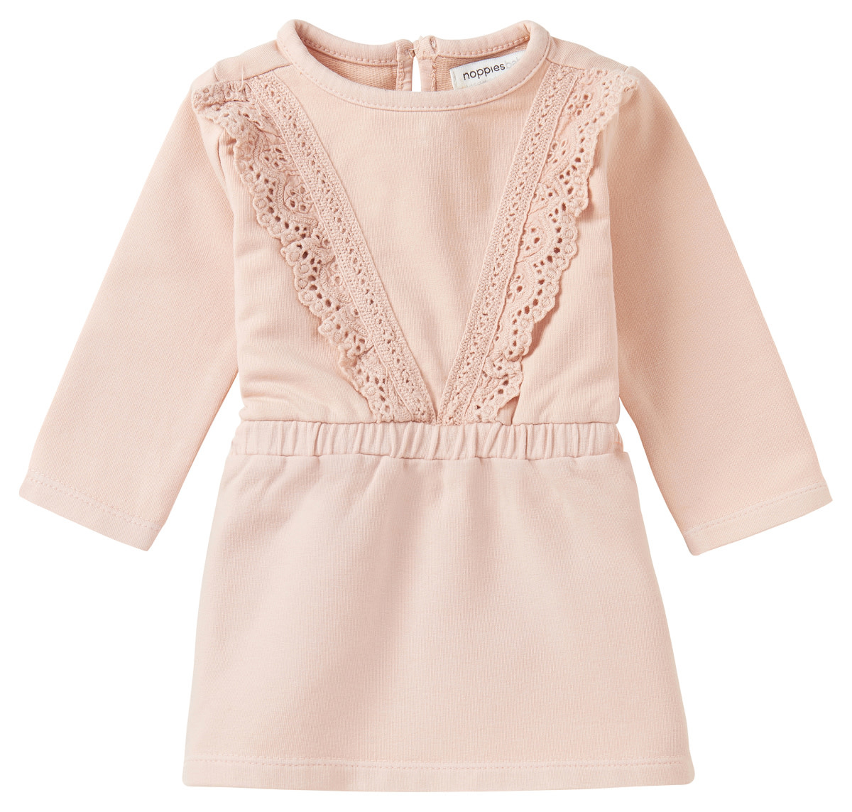Noppies Queensburgh Long Sleeve Dress - Cameo Rose