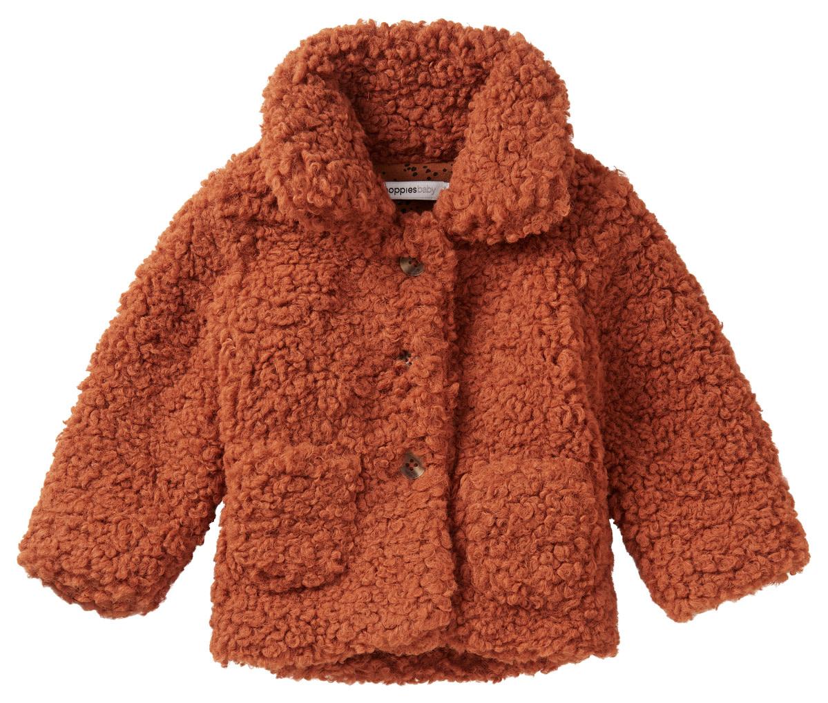 Noppies Lulekani Long Sleeve Coat - Rust