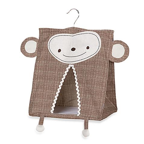 Lolli Living Nursery Storage Diaper Stacker Animal Tree Monkey